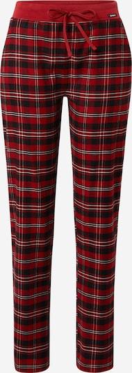 Skiny Pyjamahose in dunkelblau / rot / weiß, Produktansicht