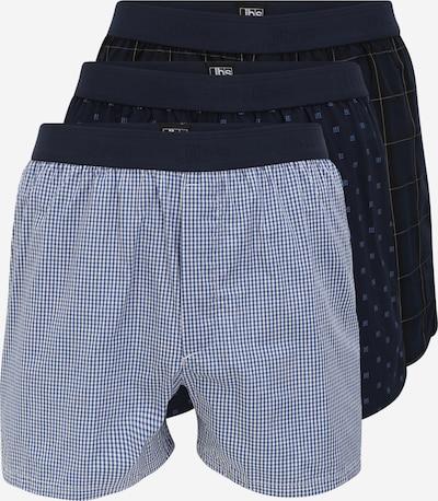 jbs Boxershorts in dunkelblau / weiß, Produktansicht