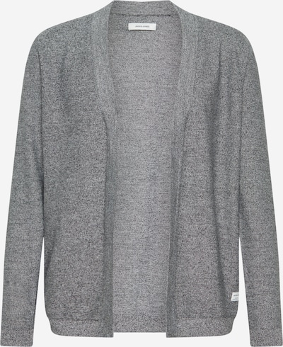 JACK & JONES Strickjacke in grau, Produktansicht