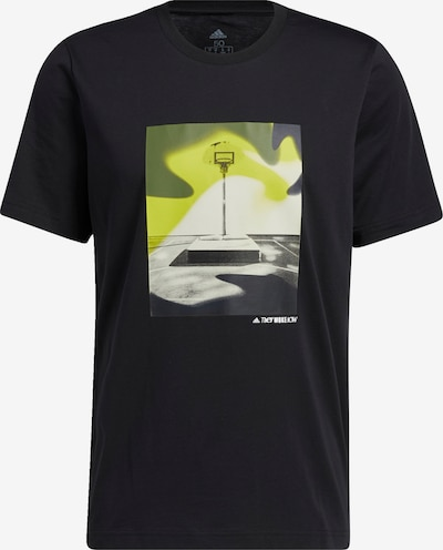 ADIDAS PERFORMANCE Shirt in schwarz, Produktansicht