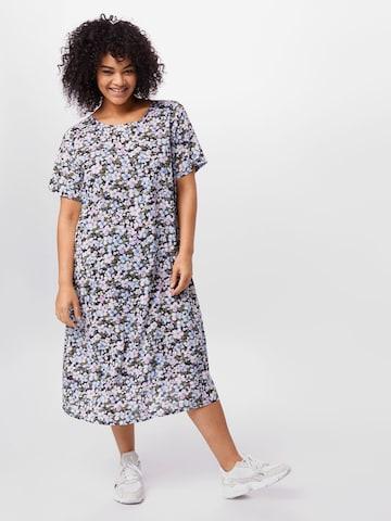 KAFFE CURVE Dress 'Ctorka' in Mixed colors