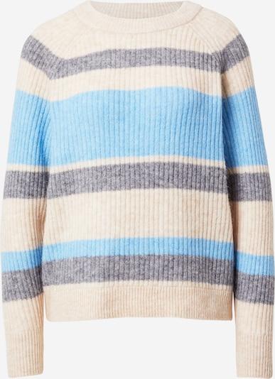 SELECTED FEMME Pullover 'Star' in beige / blau / grau, Produktansicht