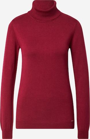 MORE & MORE Sweter w kolorze czerwony