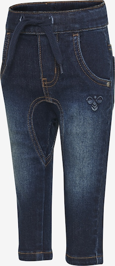 Hummel Pants in blue denim / braun, Produktansicht
