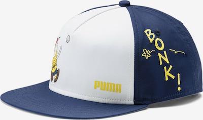 PUMA Sportmuts in de kleur Navy / Geel / Wit, Productweergave
