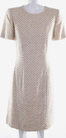 ESCADA Kleid in S in creme / gold, Produktansicht