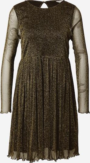 NÜMPH Jurk 'Freja' in de kleur Goud / Zwart, Productweergave
