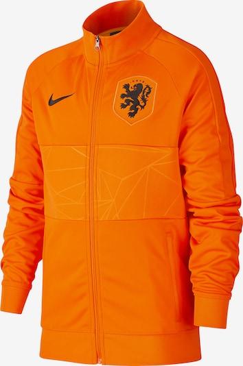 NIKE Sportjacke in orange / schwarz, Produktansicht