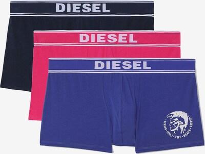 DIESEL Boxerky - modrá / námornícka modrá / ružová, Produkt