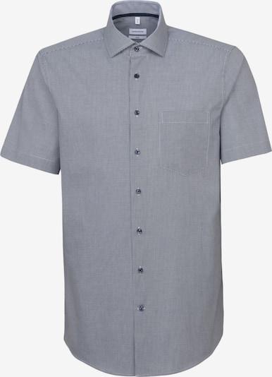 SEIDENSTICKER Overhemd in de kleur Smoky blue: Vooraanzicht