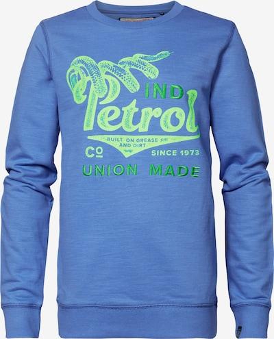Petrol Industries Sweatshirt in blau / grün, Produktansicht