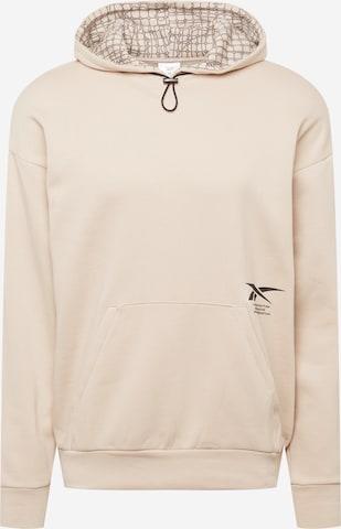 Reebok Sport Sportsweatshirt 'Graphene' in Beige