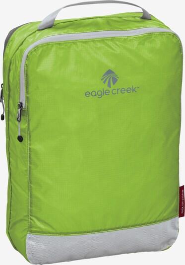 EAGLE CREEK Packtasche 'Pack-It Clean Dirty Cube' in grau / grün, Produktansicht