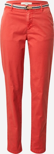 Pantaloni eleganți ESPRIT pe roșu orange, Vizualizare produs