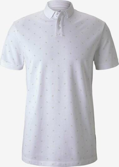 TOM TAILOR DENIM Poloshirt in weiß, Produktansicht