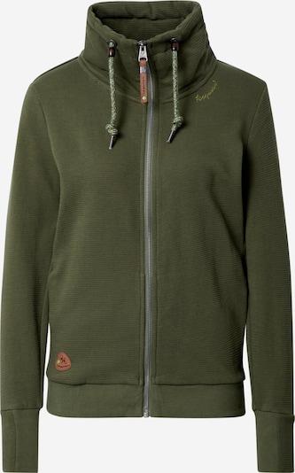 Ragwear Gebreid vest 'BLUVIANA' in de kleur Olijfgroen, Productweergave