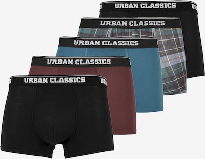 Urban Classics Big & Tall Boxerky - modrá / sivá / červená / čierna, Produkt