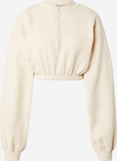 Public Desire Sweatshirt in creme, Produktansicht