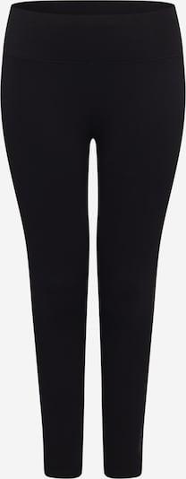 Urban Classics Curvy Leggings en gris oscuro / negro, Vista del producto