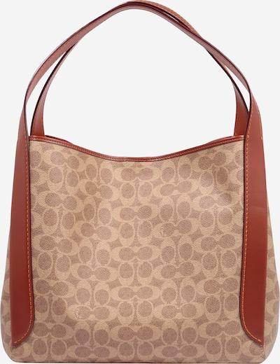 Pirkinių krepšys iš COACH , spalva - kūno spalva / tamsi smėlio / rusva, Prekių apžvalga