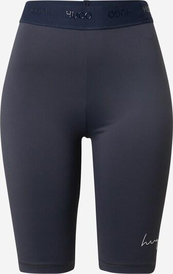 HUGO Leggings 'Nakame' in de kleur Donkerblauw / Wit, Productweergave