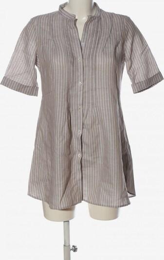 ETERNA Long-Bluse in S in braun / weiß, Produktansicht