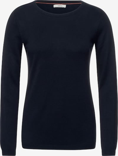 CECIL Pullover in dunkelblau, Produktansicht