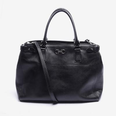 Salvatore Ferragamo Handtasche in L in schwarz, Produktansicht
