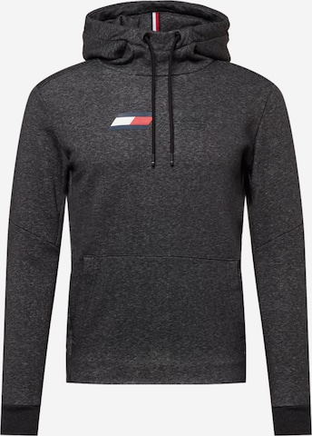 Tommy Sport Sportsweatshirt i grå