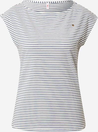 Blutsgeschwister Shirt in de kleur Nachtblauw / Wit, Productweergave