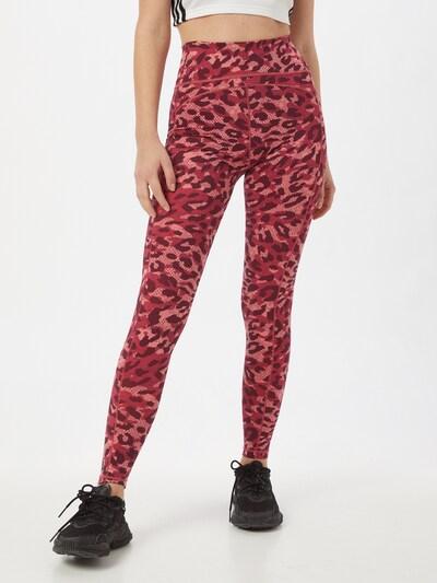 ADIDAS PERFORMANCE Športové nohavice 'Believe This' - staroružová / červená / burgundská, Model/-ka