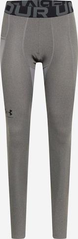 Pantalon de sport UNDER ARMOUR en gris