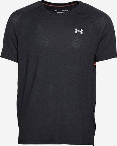UNDER ARMOUR Camiseta funcional 'Streaker' en negro / blanco, Vista del producto