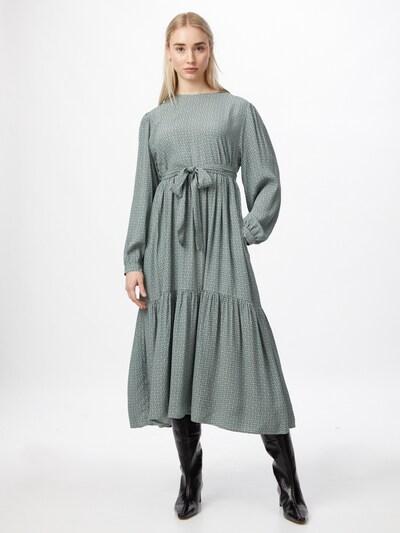 Gestuz Kleid 'Moa' in grau / pastellgrün, Modelansicht