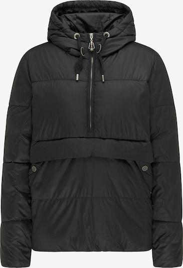 DreiMaster Vintage Veste d'hiver en noir: Vue de face