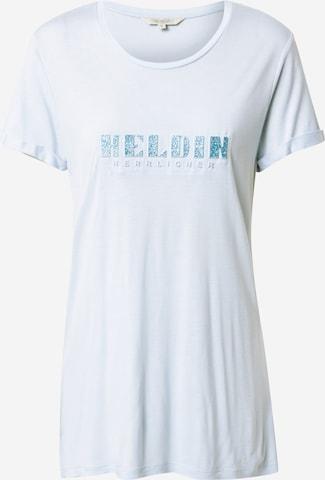 Herrlicher T-Shirt 'Kendall' in Blau