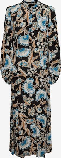 VERO MODA Blusenkleid 'Lola' in beige / creme / blau / schwarz, Produktansicht