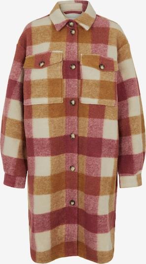 OBJECT Prechodný kabát 'Trianna' - medová / tmavoružová / biela, Produkt