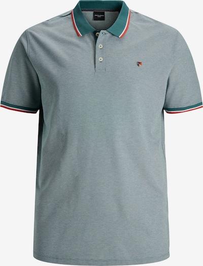 JACK & JONES T-Shirt en opal / bleu pastel / rouge / blanc, Vue avec produit