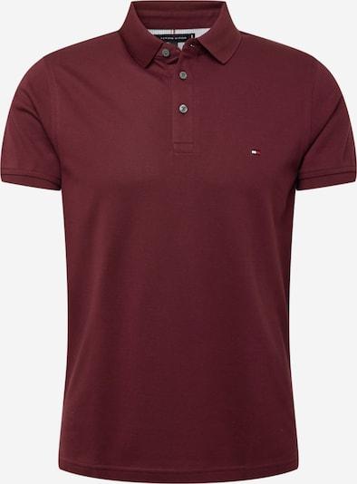 TOMMY HILFIGER Poloshirt in burgunder, Produktansicht