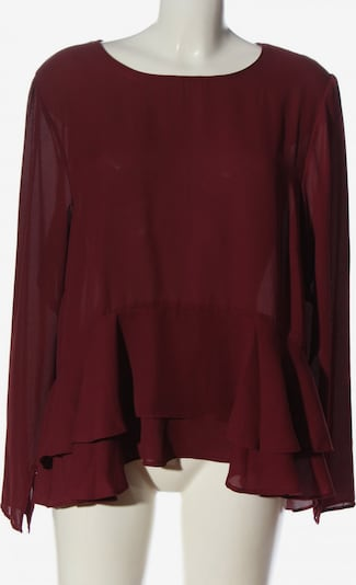 Soyaconcept Langarm-Bluse in XL in rot, Produktansicht