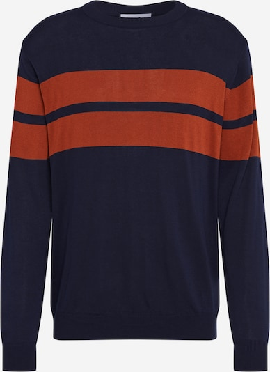 NU-IN Pullover in blau / orange, Produktansicht