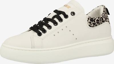 SANSIBAR Sneaker in beige / schwarz / weiß, Produktansicht