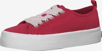 Sneaker low s.Oliver pe roșu / alb, Vizualizare produs
