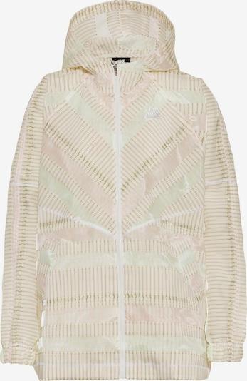 Nike Sportswear Übergangsjacke 'NSW Earth Day' in creme / weiß, Produktansicht