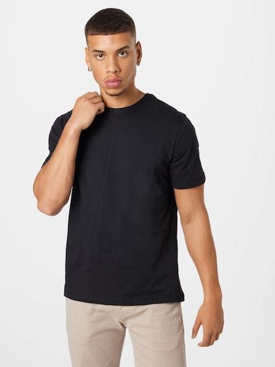 BLEND T-Shirt in schwarz: Frontalansicht