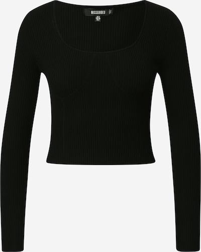 Missguided Pullover 'SWEETHEART' in schwarz, Produktansicht