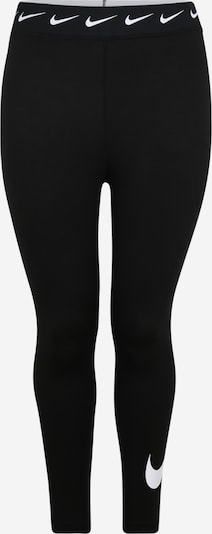 Leggings Nike Sportswear pe negru / alb, Vizualizare produs