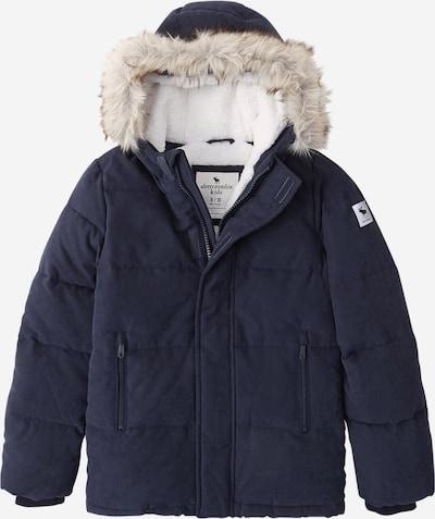 Abercrombie & Fitch Zimska jakna 'ADVENTURE' u mornarsko plava, Pregled proizvoda