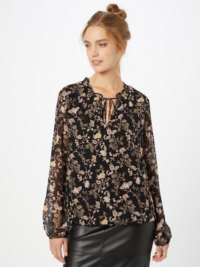 s.Oliver BLACK LABEL Bluse in mischfarben / schwarz, Modelansicht